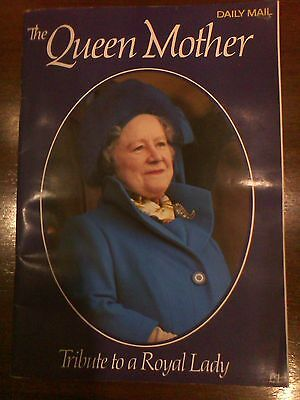 Daily Mail The Queen Mother –Tribute to a Royal Lady 49 Page Magazine,Collectors