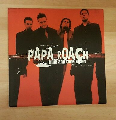 """Papa Roach 'time And Time Again' 7"""" Vinyl Single"""