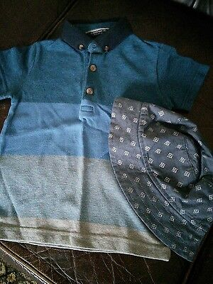 Boys polo shirt by NEXT age 1.5 - 2 years VGC