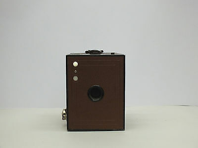 BROWN Kodak Brownie No.2 - model F, made in Great Britain c1930, great condition