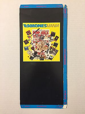 Vintage 1980s Ramones Ramonesmania Empty CD Longbox Only No Disc 1988