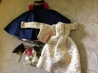 Pink Lightning & Cameo Dresses with 4 pairs of shoes