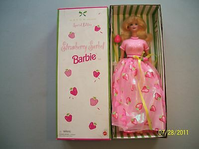 Barbie: Strawberry Sorbet Blonde Caucasian Doll 1998  Special Edition   612