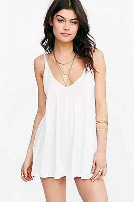 White Michelle Wholesale Tank Tops Lot of 2