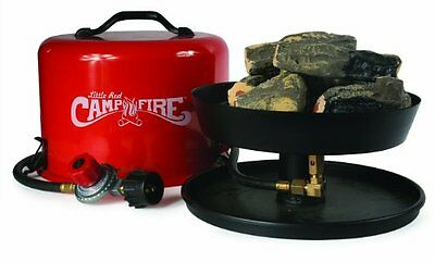 """Camco 58031 """"Little Red Campfire"""" Propane Camp Fire"""