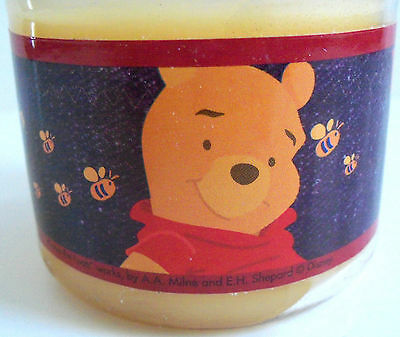 Disney Store Winnie the Pooh 3.5 oz Lemon Scented Jar Candle