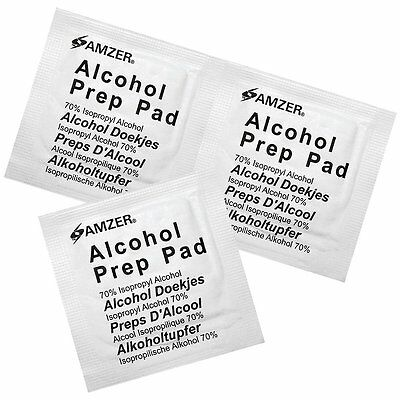 ~ Alcohol Preparation Pads Wipes 20 Pieces Pcs Pk Prep For Disinfection Use