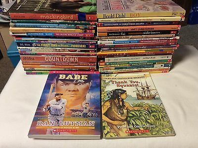 ** LOT of 100+ ** 3rd-5th Grade Children's Books ** Scholastic and More **