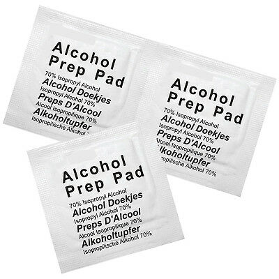 ツ Alcohol Preparation Prep Wipes Pads Choose Your Amount 5 10 20 50 100 10000