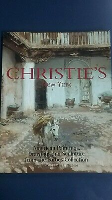 Christie's Auction Catalog Forbes-9866: American Art November 2001 New York