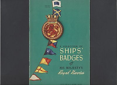 Booklet of Selection of Ships' Badges of His Majesty's Royal Navies 1942