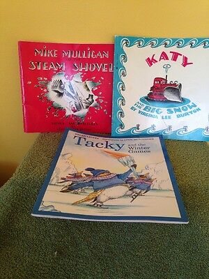 Lot Of 3 Picture Books Paperback