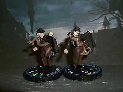 HORRORCLIX SNAKE OIL SALESMAN X2 #038 Blue-Experienced W/CARDS FREAKSHOW