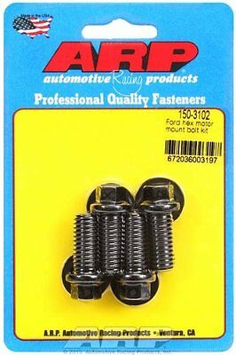 Arp 1503102 Black Oxide Hex Motor Mount Bolt Kit