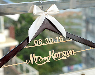 Personalized Wedding Hanger Bridal Bridesmaid Name Wedding Dress Hanger LL009