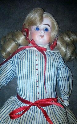ANTIQUE ERNST HEUBACH BISQUE DOLL Germany 14 inches 11/0 beautiful doll