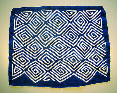 Handsome Blue Abstract pattern Mola