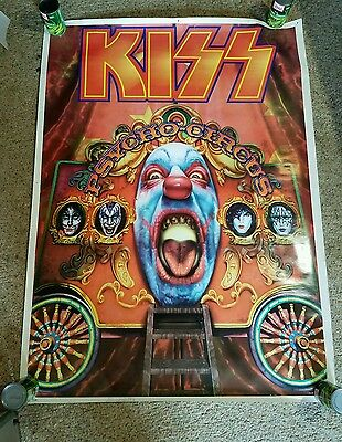 """KISS Psycho Circus Mural Poster  Import Images 40"""" x 55"""""""