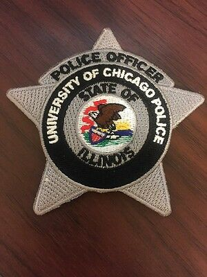 University of Chicago Illinois Police Patch