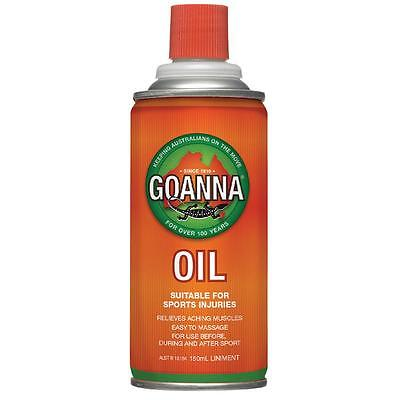 Goanna Oil Suitable For Sports Injuries 150Ml Liniment Aching Muscles