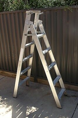 Aluminium Step / long ladder, heavy duty, good condition 1.72m and 3.0m high