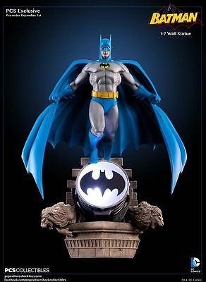 Pop Culture Shock PCS Batman 1:7 Exclusive Bronze Age LED Wall Statue Figure New