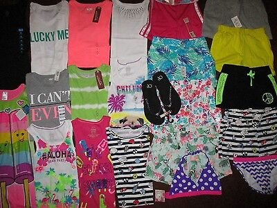NWT'S Girls Size 7 8 Spring Summer Lot Clothes & Outfits Old Navy TCP Arizona