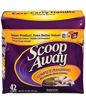 Scoop Away Complete Performance Cat Kitty Low Dust Litter 42 lb. Bag