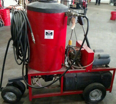 Used Hotsy Hot Water Electric / Diesel 4GPM @ 1000 PSI Pressure Washer