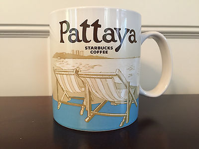 Starbucks Pattaya Global Icon Collector Series Coffee Mug 16 fl oz - Brand New