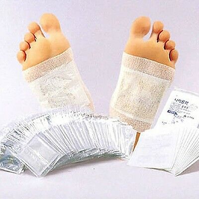Detox Foot Patch Pads Natural plant Toxin Removal Natural Herbal sap sheet KOREA