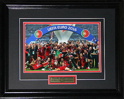2016 Team Portugal Euro Cup Champions 8x12 frame