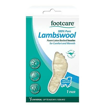 Footcare Odour Stop! 100% Lambswool Insoles 1 Pair