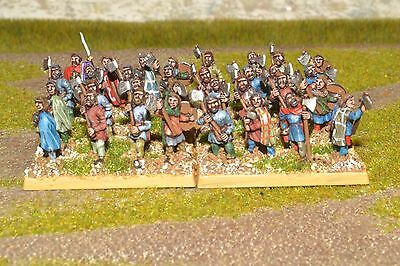 1/100 15mm DPS painted Ancient German Warrior ExEG008 RC225