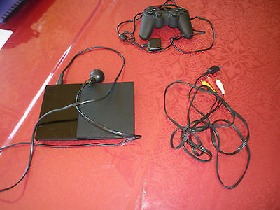 Play Station 2  Console/controller & 10 Games