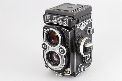 [Excellent++++] Rolleiflex 3.5F TLR Planar 75mm Working Meter from Japan #916