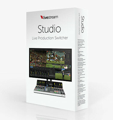 Livestream Studio Software v4.0 (with free upgrades for life)