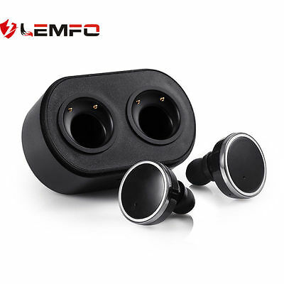 Lemfo Q800 Bluetooth Wireless Deporte Auricular Mini Earphone Para Android IOS