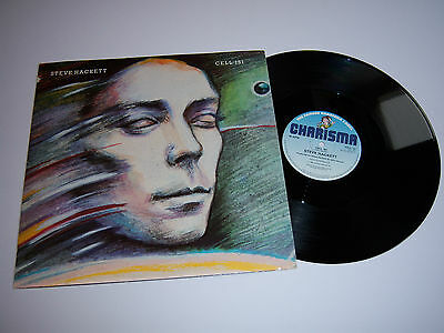 "STEVE HACKETT Cell 151 12""p/s tour dates on back UK 1982 Charisma CELL12 GENESIS"