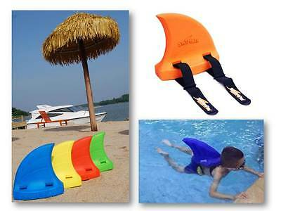 Orange SWIMFIN Swim Fin Childrens Kids Swimming Pool Buoyancy Float Aid
