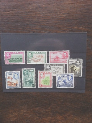 FIJI - King George VI Mint Stamp Collection