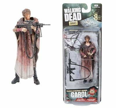 The Walking Dead TV Serie 8, Carol Exclusive , Actionfigur McFarlane Zombie RAR