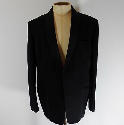 """Tuxedo Mens Black Single Breasted Dinner / Proms Jacket To Fit Size 38"""" Chest"""