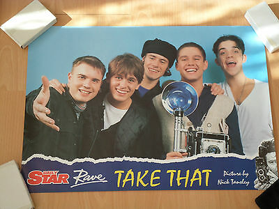 Take That Poster. Good Condition.