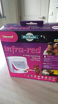 Chatière infrarouge neuve Staywell Petsafe.Chat jusque 7 kg.4 options fermeture