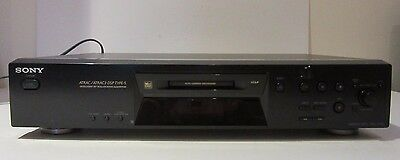 SONY MDS JE 480 MINIDISC STEREO PLAYER, RECORDER  MD with Remote
