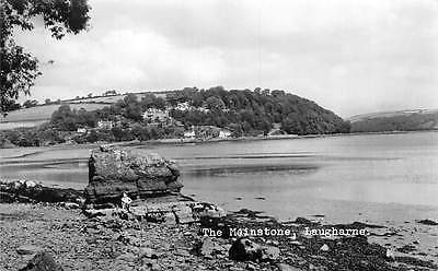 Wales Laugharne (Talacharn) The Mainstone, Real Photograph