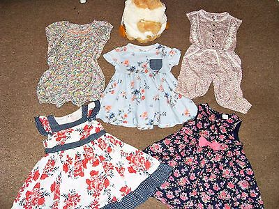 Baby Girl Clothes Bundle 12-18 M Dresses Playsuits New Bag NEXT H&M Early Day
