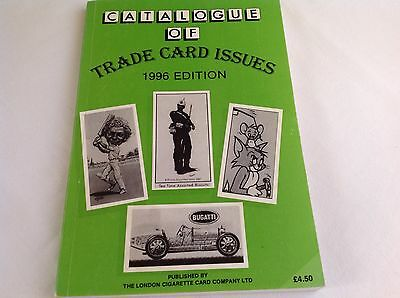 Catalogue of Trade Card Issues Book 1996 Edition