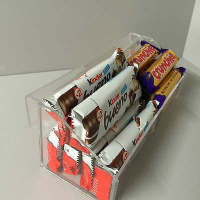 Hook over Chocolate bar & confection display ( impulse buy )